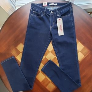 Levi's 711 Skinny Jeans with Sparkle